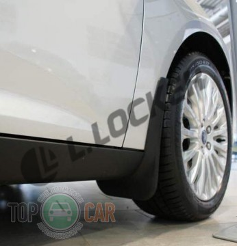 L.Locker Брызговики Ford Focus III 2011- передние к-т